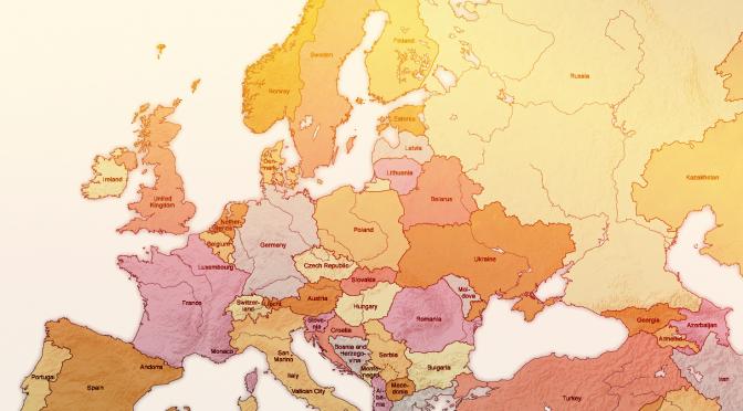 Европа там, где нас нет