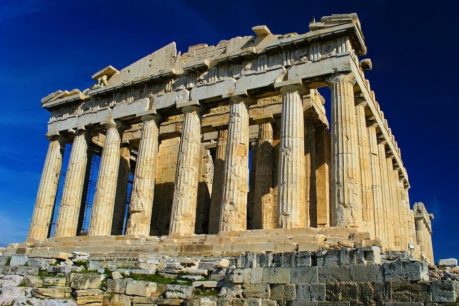 Парфенон, Афины (keytours.gr).