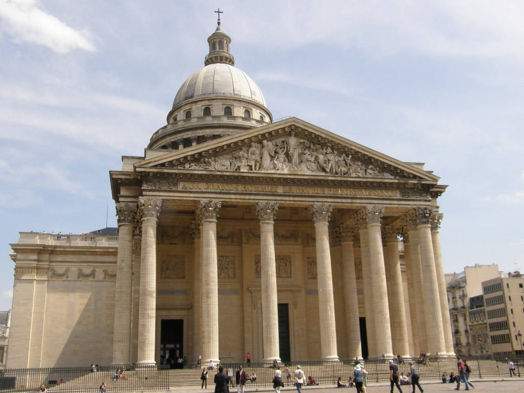 Пантеон, Париж (worldalldetails.com)