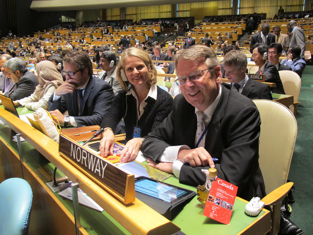 © Norwegian Mission to the UN. https://www.flickr.com/photos/norwayun/