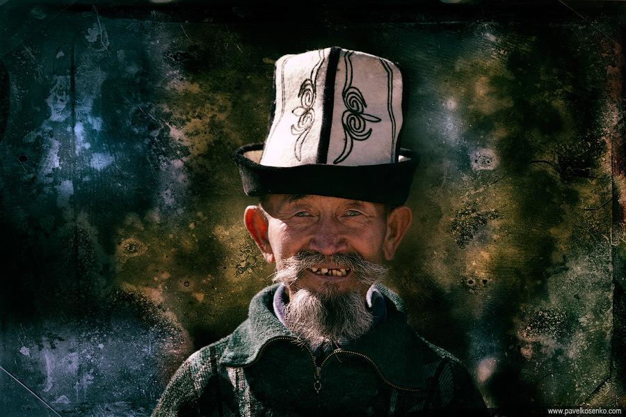 Киргиз в калпаке. © Павел Косенко. http://www.pavelkosenko.com