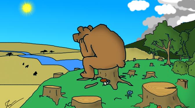 Сказка о том, как медведь с колен вставал (Часть 1)