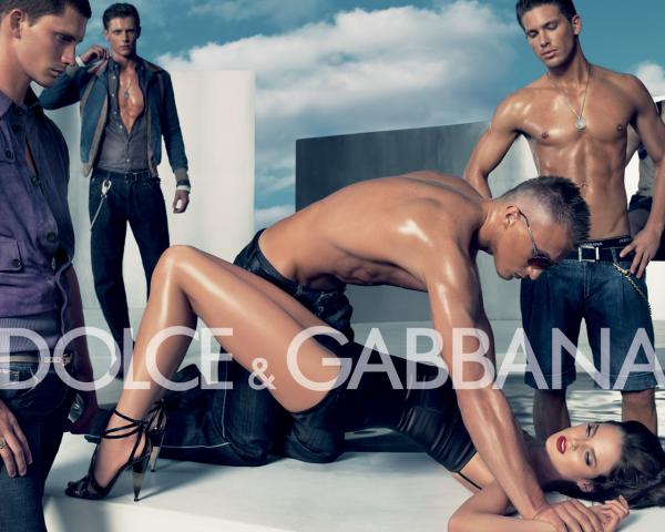 Реклама Dolce & Gabbana, 2015 год.