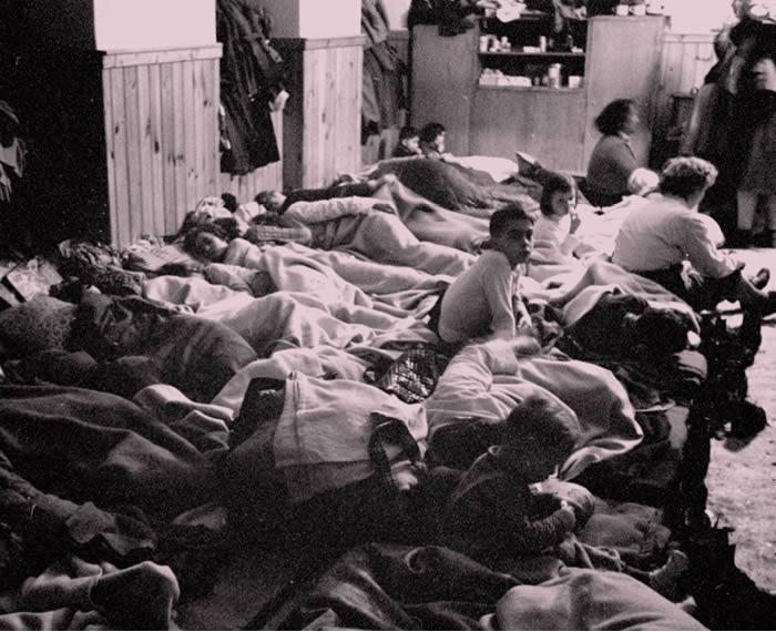 Kapolcs refugees