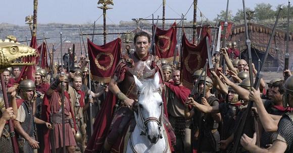 "Сцена из сериала HBO ""Рим""."