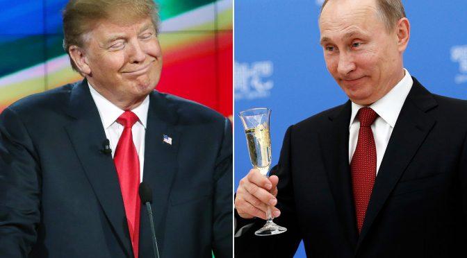 Трамп и Путин. Да, между ними действительно что-то есть